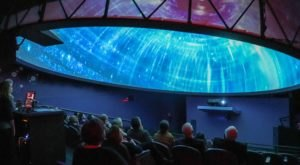 Take A Journey Through The Solar System Beneath A 30-Foot Sci-Dome At The Works In Ohio