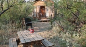 You'll Find A Luxury Glampground At Faywood Hot Springs In New Mexico, It's Ideal For Winter Snuggles And Relaxation