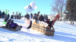 Embrace The Winter Cold At The Annual Frostival Event In North Dakota