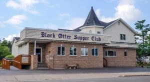 The Gigantic Prime Rib At Wisconsin's Black Otter Supper Club Is A Carnivore's Dream Come True