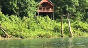 River Of Life Treehouses Near White River In Missouri Let You Glamp In Style