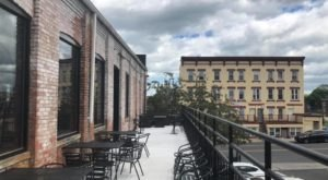 Sip Beer And Eat Pizza Inside An Old Coat Factory At Five Churches Brewing In Connecticut