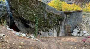 You Can Spend The Night In An Airbnb That's Inside An Actual Cave Right Here In Washington