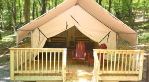 For Just $89 A Night, You Can Stay In A Luxury Tent At Kymer's Camping Resort In New Jersey
