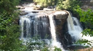 Dine While Overlooking Waterfalls At The Smokehouse At Blackwater Falls In West Virginia
