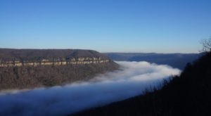 Tennessee's Grand Canyon Of The East Looks Even More Spectacular In the Winter