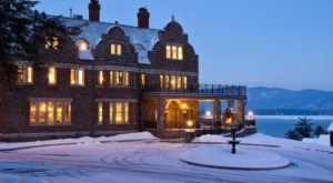 Dine Outside In An Igloo And Then Stay Overnight In A Castle At This New York's Lakefront Inn At Erlowest