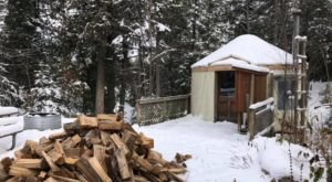Enjoy A Cozy Upper Peninsula Getaway In A Yurt At Michigan's Craig Lake State Park