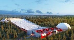 In 2020, Florida Is Getting A 60-Foot Tall, 400-Foot Wide Gargantuan Snow Tubing Hill