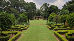 Take In Perfectly Manicured Gardens And A Historic Home At Longue Vue House And Gardens In New Orleans