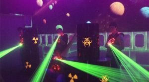 The Multi-Level Outer Space Themed Laser Tag Course At Lightspeed In Wisconsin Is Fun For All Ages