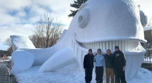 Seeing The Bartz Family Snow Sculptures In New Brighton, Minnesota, Will Be Your Favorite Winter Memory