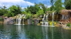 Featuring Man-Made Waterfalls And Located In A Historic Quarry, Wisconsin's Daggett Memorial Park Is Unlike Any Other