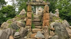 Travel Back To The Ancient World By Visiting Ohio's Very Own Stone Temple