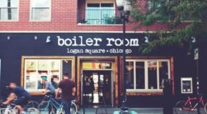 Winter Can't Shut Down The Covered Rooftop Patio At The Boiler Room, A Craft Beer And Pizza Pub In Illinois