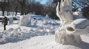 Seeing The Massive Snow Sculptures In The City Of Rockford, Illinois Will Be Your Favorite Winter Memory