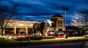 The Massive Prime Rib At Kelsey's Steak House In Indiana Belongs On Your Dining Bucket List