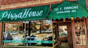 The Best Hometown Pizzeria Is The Pizza House, Established In Illinois In 1955