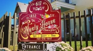 Enjoy Splendid Dining In An Indiana Mansion At The Neely House, A Mansion Built In 1852