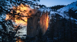 Yosemite's Iconic Firefall In Northern California Will Be Visible For Two Weeks In 2020