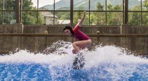 Most People Don't Know That You Can Surf Indoors At Jay Peak Waterpark In Vermont This Winter