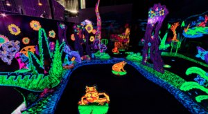 Putting Edge Is A Blacklight Mini Golf Course In Michigan That The Whole Family Will Love