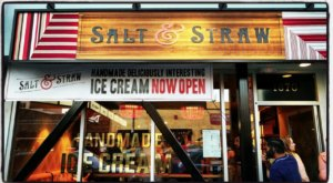 The Ice Cream Parlor In Southern California, Salt and Straw, That's So Worth Waiting In Line For