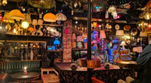 There's A Lamp Shade Themed Bar In Vermont Called Light Club Lamp Shop And It's Downright Whimsical
