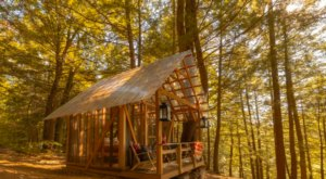 Sleep Under The Stars At This Open Air Airbnb Tiny House In Vermont