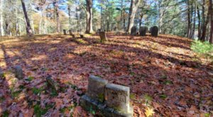 Visit Goose Hill Cemetery, A Hidden Cemetery That Feels Like Massachusett's Most Haunted Secret