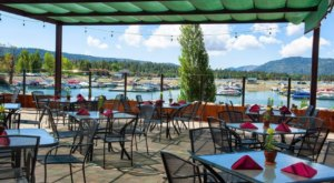 The Pines Lakefront Restaurant In Southern California Is Delightful To Visit All Year Long