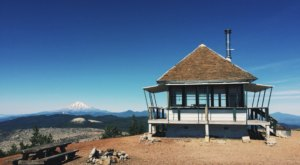 Perched On The Rim Of A Northern California Volcano, The Little Mt. Hoffman Lookout Is The Perfect Adventure Destination