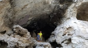 Hike To Limestone Caves On The Robber's Roost Trail In Nevada For An Out-Of-This-World Experience