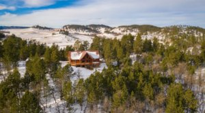 This Remote Log Home Airbnb In South Dakota Is Perfect For The Outdoor Lovers In Your Life
