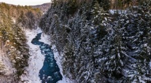 Vermont's Grand Canyon Of The East Looks Even More Spectacular In the Winter