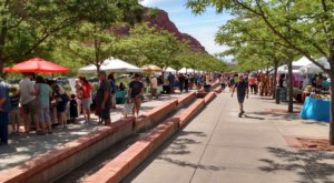 It's Always Warm And Sunny At This Year-Round Outdoor Market In Utah