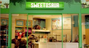 The Dinosaur-Themed Ice Cream Shop In Southern California, Sweetosaur, Is The Coolest Place On Earth
