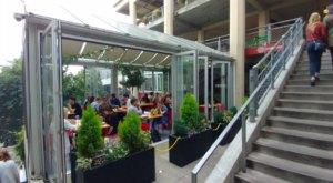 Dine Under A Glass Atrium At Red Cedar & Sage In Washington