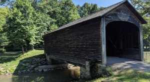 The Oldest Covered Bridge In New York Has Been Around Since 1825