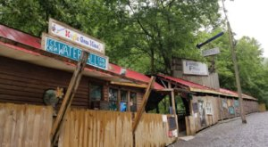 Mine For Gems, Grab Lunch And Shop At Friendly Falls, A Roadside Attraction Just Feet Away From A Waterfall In Tennessee