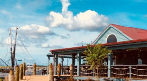 Dine Right On The Docks At Fish Camp On 11th Street In South Carolina