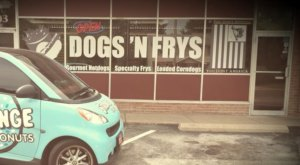 Choose From 26 Types Of Hot Dogs And 17 Fries At Dogs 'N Frys In Missouri