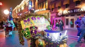 Experience Bourbon Street Right Here In Maryland At The Annual Mardi Gras Festival