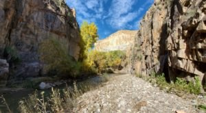 Only 10 People Can Enter Aravaipa Canyon Wilderness In Arizona Each Day