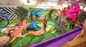 Have A Blast At An Adult Playground With Whimsical Mini Golf And Yummy Drinks At Can Can Wonderland In Minnesota
