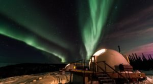 Spend The Night Inside Of Your Very Own Igloo At Borealis Basecamp In Alaska