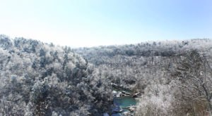 Alabama's Grand Canyon Of The East Looks Even More Spectacular In The Winter