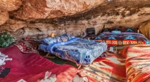 You Can Spend The Night In An Airbnb That's Inside An Actual Cave Right Here In Arizona