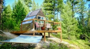 Take Stargazing To A New Level At This One-Of-A-Kind Montana Cabin With Translucent Walls