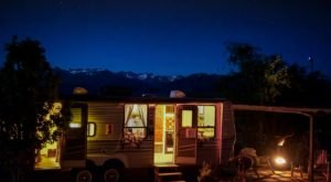 Sleep Inside A Colorful Camper On The Shores Of A Lake For A Vibrant Northern California Adventure
